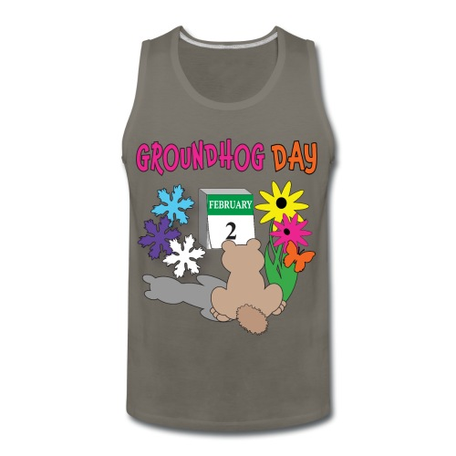 Groundhog Day Dilemma - Men's Premium Tank
