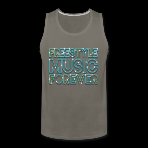 Freestyle Music Forever! - Men's Premium Tank