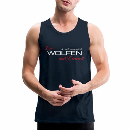 Wolfen Atitude on Dark - Men's Premium Tank