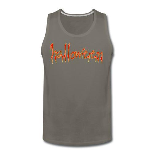 creepy halloween - Men's Premium Tank
