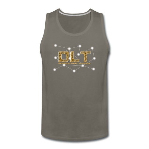 DLT - distributed ledger technology - Men's Premium Tank