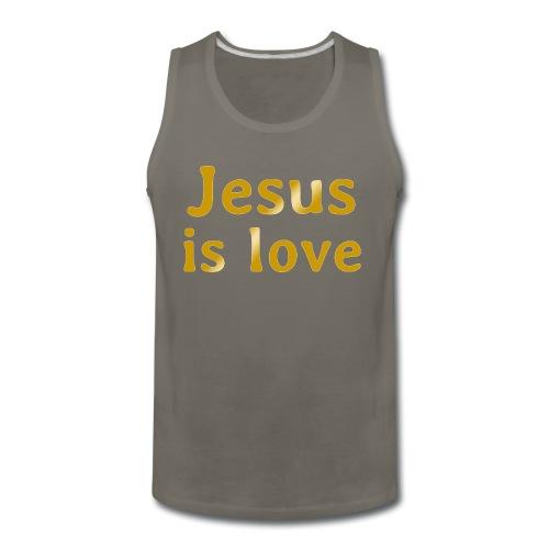 Jesus is love - Men's Premium Tank