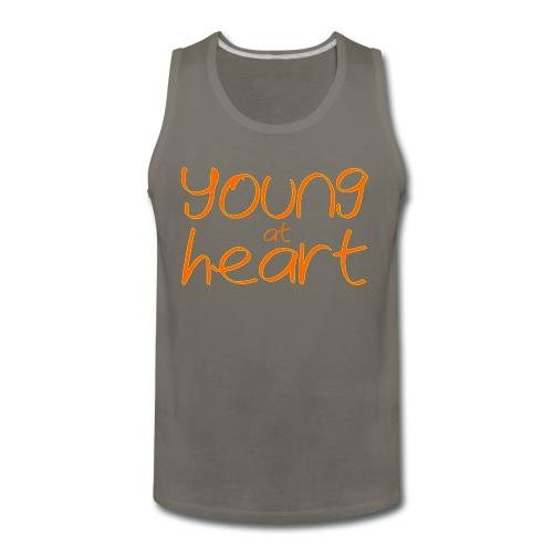 young at heart - Men's Premium Tank