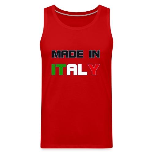 Made in Italy - Men's Premium Tank
