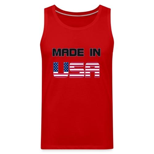 Made in USA - Men's Premium Tank