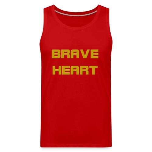 brave heart - Men's Premium Tank