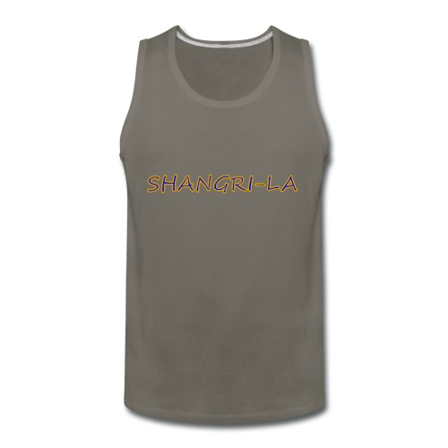 Shangri La gold blue - Men's Premium Tank