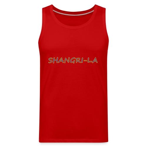 Shangri La gold blue - Men's Premium Tank