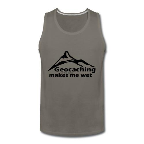 Wet Geocaching - Men's Premium Tank