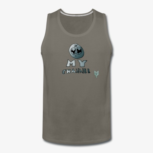 My Channel Cute - Men's Premium Tank
