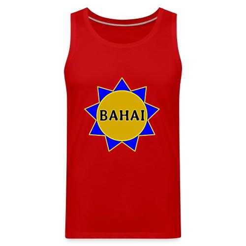Bahai star - Men's Premium Tank