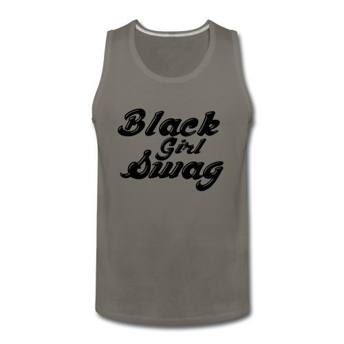 Black Girl Swag T-Shirt - Men's Premium Tank
