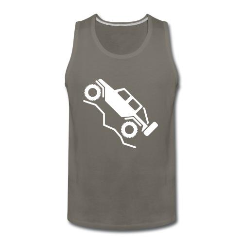 Offroad 4wd Rock Crawling Logo - Men's Premium Tank