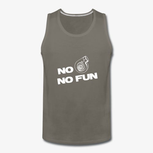 No turbo no fun - Men's Premium Tank