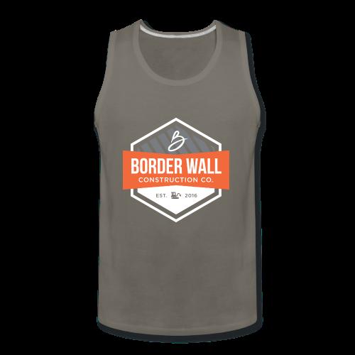 Border Wall Construction Crew - Men's Premium Tank