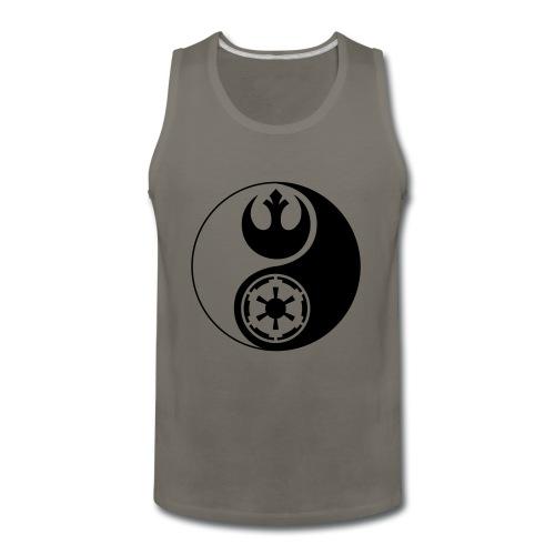 Star Wars Yin Yang 1-Color Dark - Men's Premium Tank