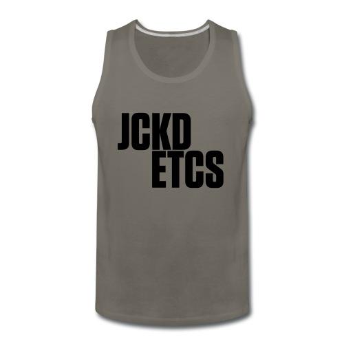 JE_BACK - Men's Premium Tank