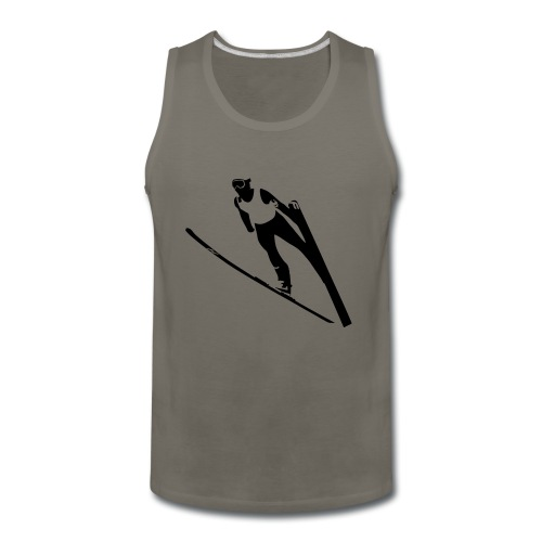 Ski Jumper - Men's Premium Tank