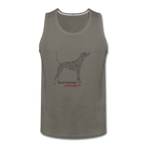 Plott Hound Lovers - Men's Premium Tank