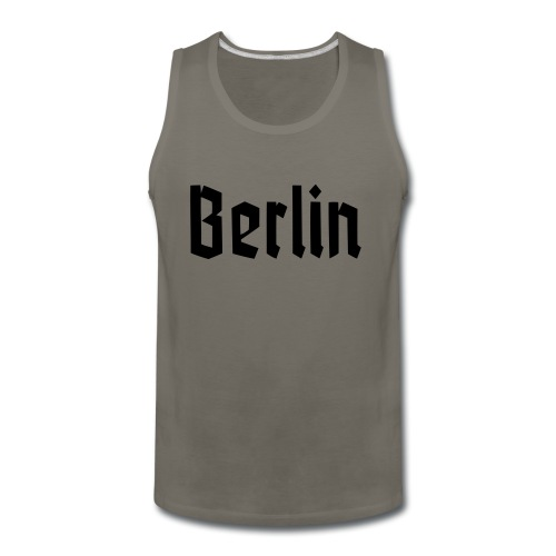 BERLIN Fraktur Font - Men's Premium Tank