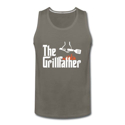 The Grillfather - Men's Premium Tank