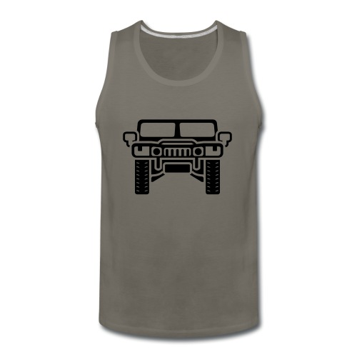 Hummer/Humvee illustration - Men's Premium Tank