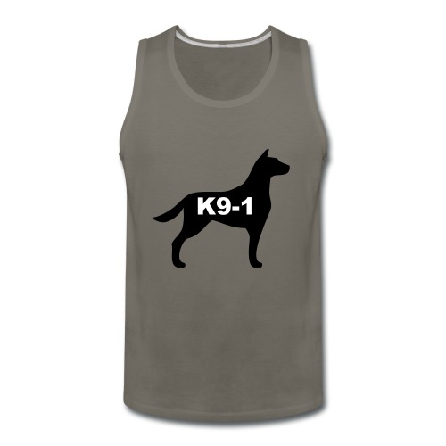 k9-1 Logo Large - Men's Premium Tank