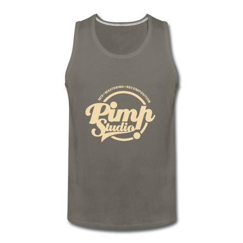 PIMP STUDIO gold - Men's Premium Tank