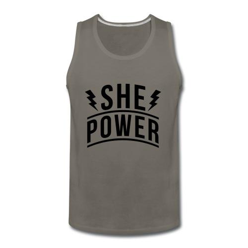 She Power - Men's Premium Tank