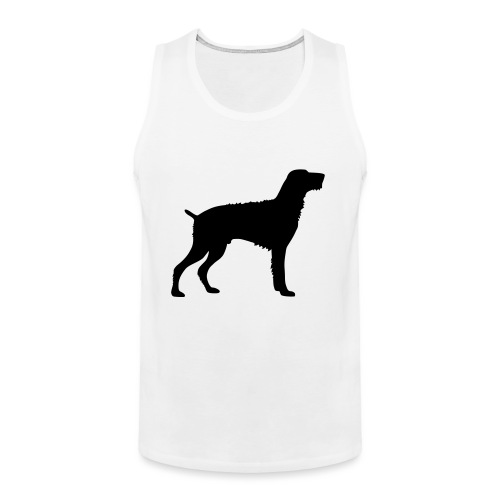 German Wirehaired Pointer - Men's Premium Tank