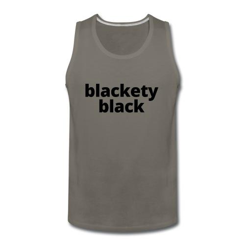 Blackety Black 12 - Men's Premium Tank