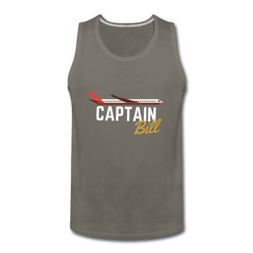 Captain Bill Avaition products - Men's Premium Tank
