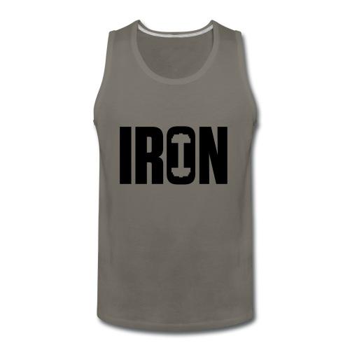 IRON WEIGHTS - Men's Premium Tank