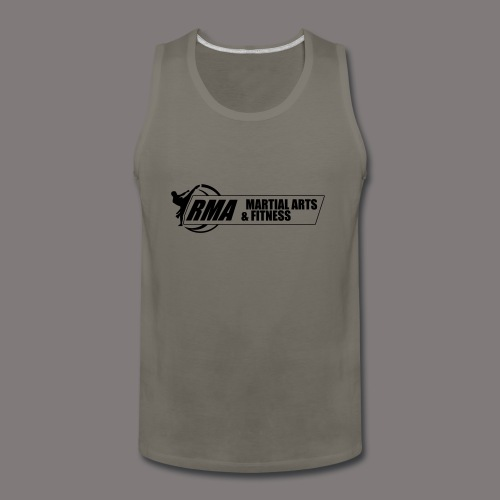 RMA-full-logo-Front-1clr- - Men's Premium Tank