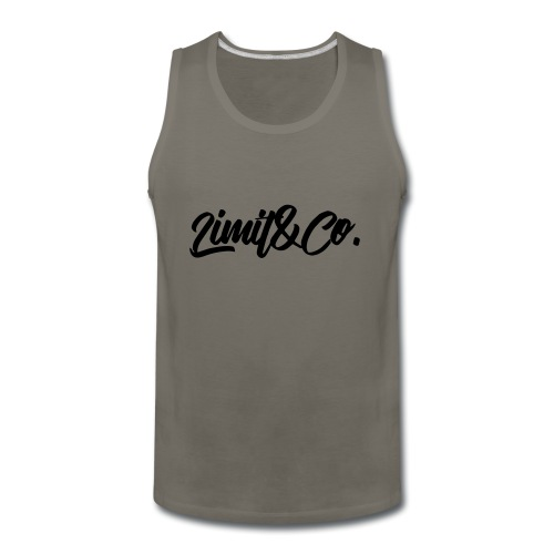 Red Burgendy T-Shirt - Men's Premium Tank
