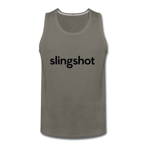 SlingShot Logo - Men's Premium Tank