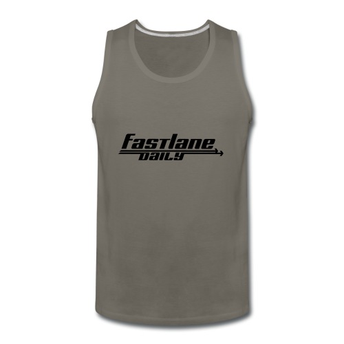 Fast Lane Daily logo - Men's Premium Tank