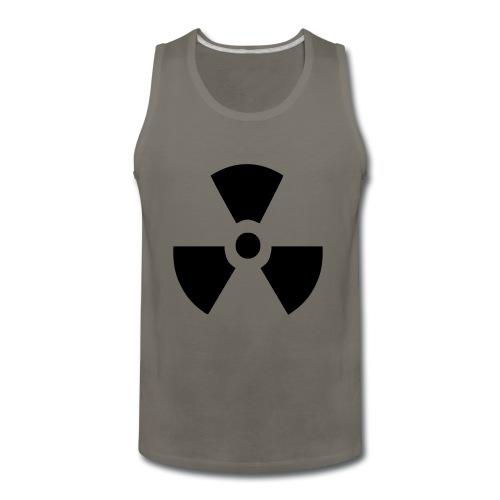 Radiation Symbol - Men's Premium Tank