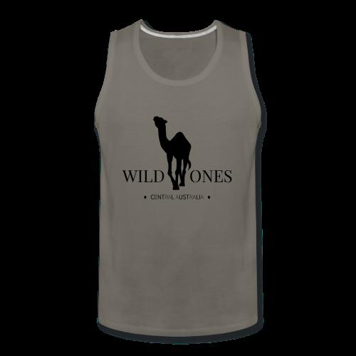 WILD ONES Camel Logo 2 - Men's Premium Tank