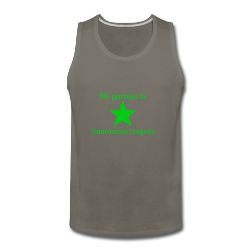 I speak the international language - Men's Premium Tank