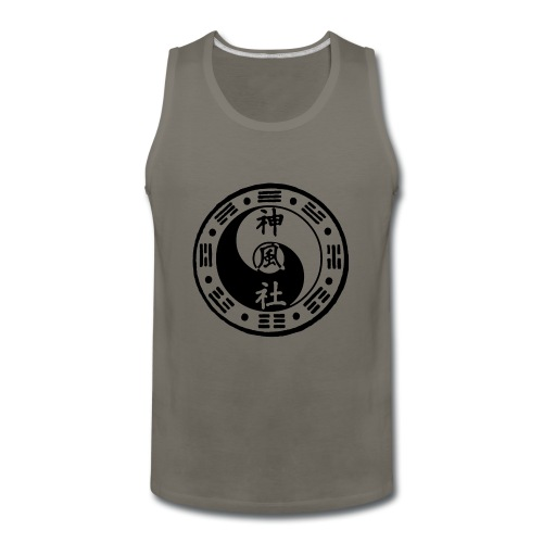 SWC LOGO BLACK - Men's Premium Tank