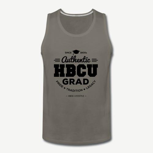 Authentic HBCU Grad - Men's Premium Tank