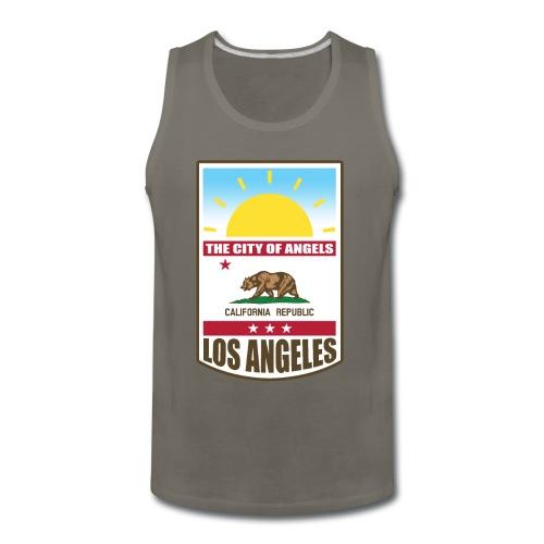 Los Angeles - California Republic - Men's Premium Tank