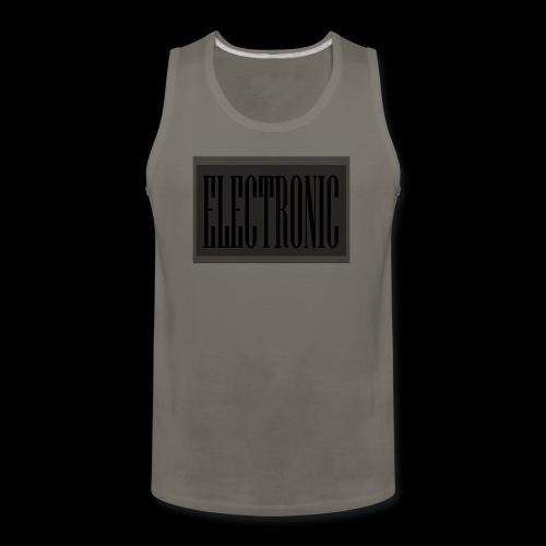 Electronic Logo - Men's Premium Tank