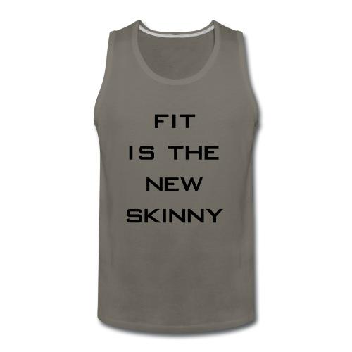 The New Skinny Gym Motivation - Men's Premium Tank