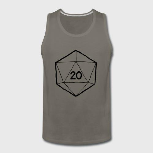 Fantasy Dice d20 - Men's Premium Tank