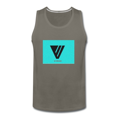 Virgo : Color - Men's Premium Tank