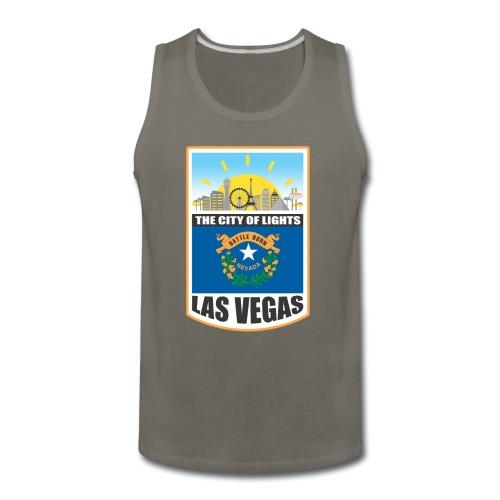 Las Vegas - Nevada - The city of light! - Men's Premium Tank