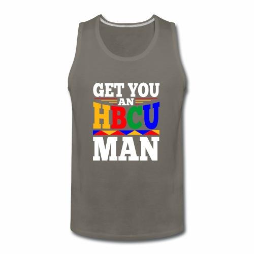 HBCU MAN - Men's Premium Tank
