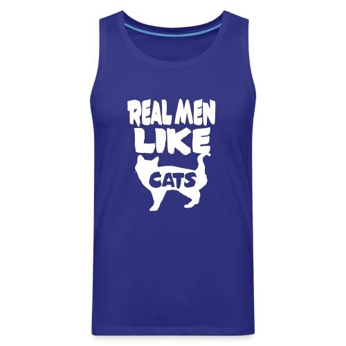 cats - Men's Premium Tank